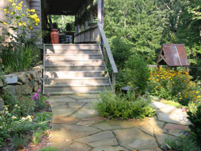 how to design a walkway, concrete masonry, decks, outdoor living