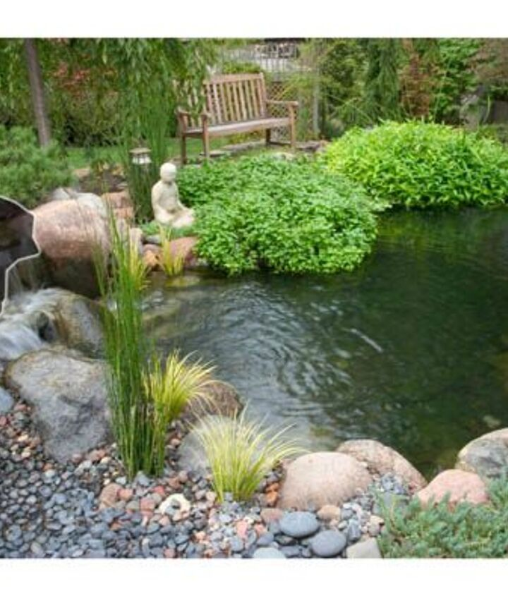 1. Filtration. A biological filter and a mechanical skimmer work together to filter your pond's water and keep it clean.
