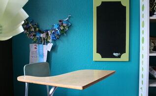 repurposing a cabinet door, chalkboard paint, crafts, doors, repurposing upcycling