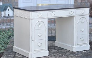 Elegant Country Chic Desk Redo