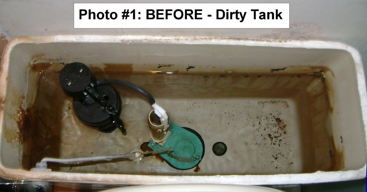 Toilets Why Clean The Tank Hometalk
