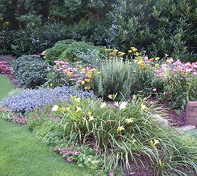 Here S An Example Of How We Used Perennials To Add Color And Interest To  This