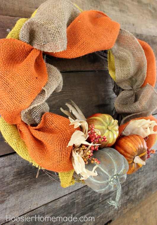 Add pumpkins in a grouping of 3