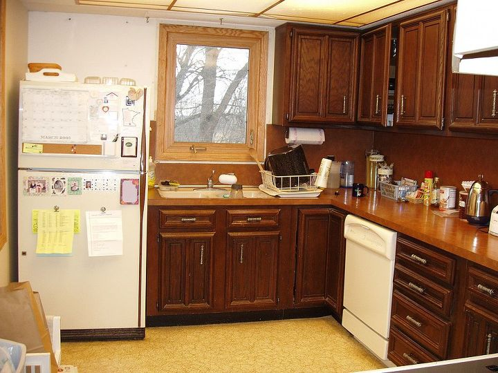 This is my kitchen before I remodeled it. Nothing was salvageable in my estimation.