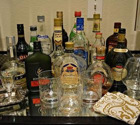 Decorate You Use Your Alcohol Bottles To Decorate Bar Cart, Home Decor, Do  You
