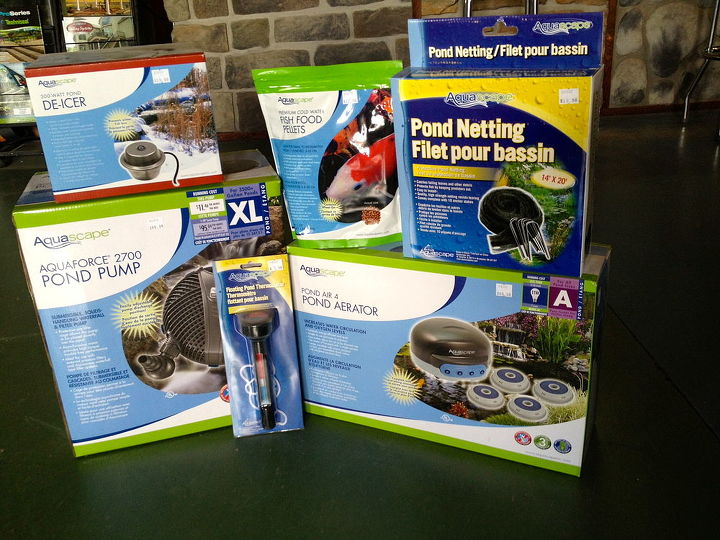 Tip #10  Here are a few of my favorite Aquascape Inc. products for Fall/Winter Pond Preparation.