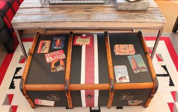 New Look for an Old Steamer Trunk