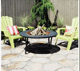 Fire Pit Patio, Outdoor Living, Patio, Last Year We Added A Couple More