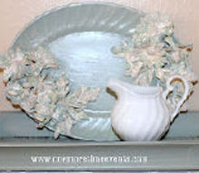 how to make plaster of paris flowers using silks, crafts