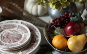 thanksgiving table, seasonal holiday d cor, thanksgiving decorations, Thanksgiving table