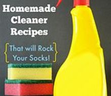 15 homemade cleaner recipes that will rock your socks, cleaning tips, homesteading