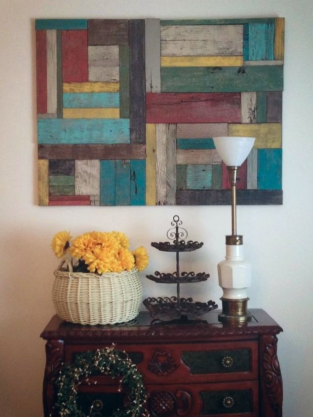 wall art, home decor, painting, pallet, This is mine It was chalk painted clear wax