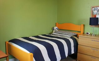 diy twin bed amp boys room makeover, bedroom ideas, home decor