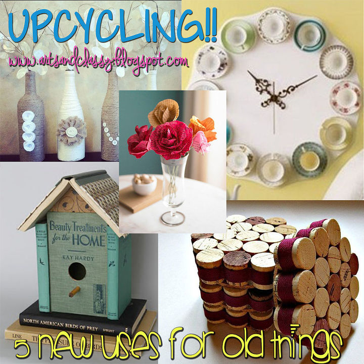 Upcycling is my favorite! I love re-purposing old items.
