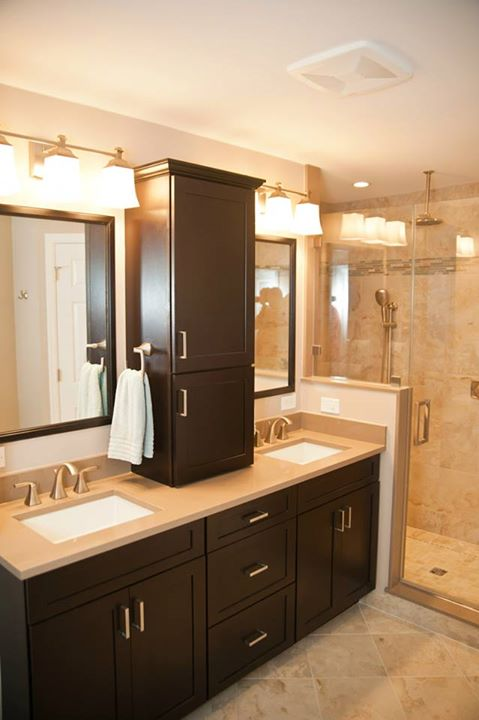 colonial home s modern master bath renovation, bathroom ideas, home decor, home improvement, The New Master Bath