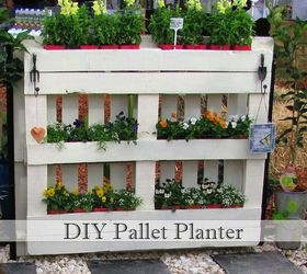 Diy Pallet Planter, Diy, Gardening, How To, Pallet, Repurposing Upcycling,