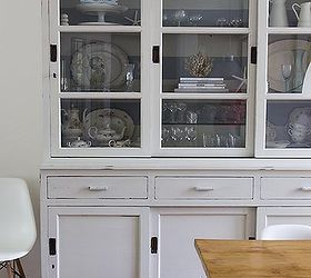 Hutch Makeover With Milk Paint, Painted Furniture, Now That You Are Not  Greeted By