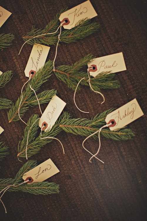 Name cards for Entertaining