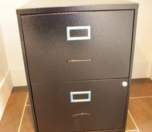 transform a boring black box file cabinet into a one of a kind beauty, chalk paint, cleaning tips, craft rooms, kitchen cabinets, painting, storage ideas