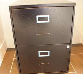Transform A Boring Black Box File Cabinet Into A One Of A Kind Beauty, Chalk