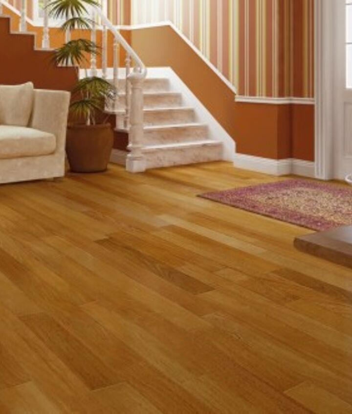Floor mats at entryways help to limit debris and scratches on your floors