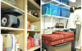 shed gets major overhaul, garages, organizing, outdoor living