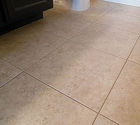 Grouted Vinyl Tile, Bathroom Ideas, Flooring, Tile Flooring, Tiling, Phase 1