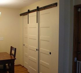 New Pantry Build With Sliding Barn Style Doors Budgetupgrade, Closet, Doors,  Home Decor