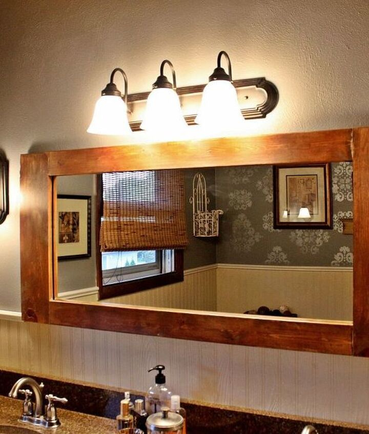 Diy Bathroom Vanity Mirror Hometalk