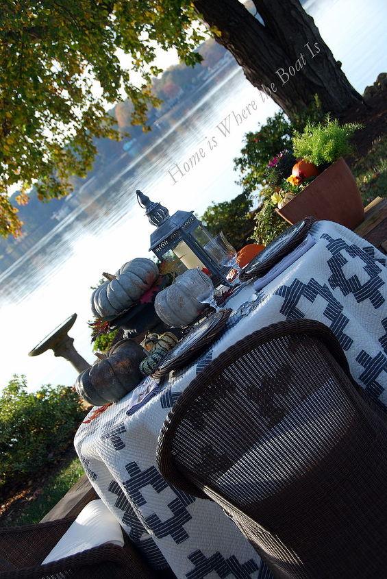 a harvest of gray, outdoor living, seasonal holiday decor