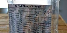 52 money challenge, crafts