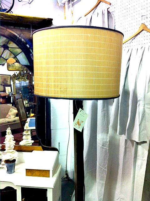 coat rack into floor lamp, lighting, repurposing upcycling