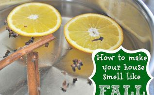 stovetop fall potpourri, cleaning tips, crafts, seasonal holiday decor