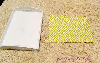 Easy DIY countertop or tabletop accessory!