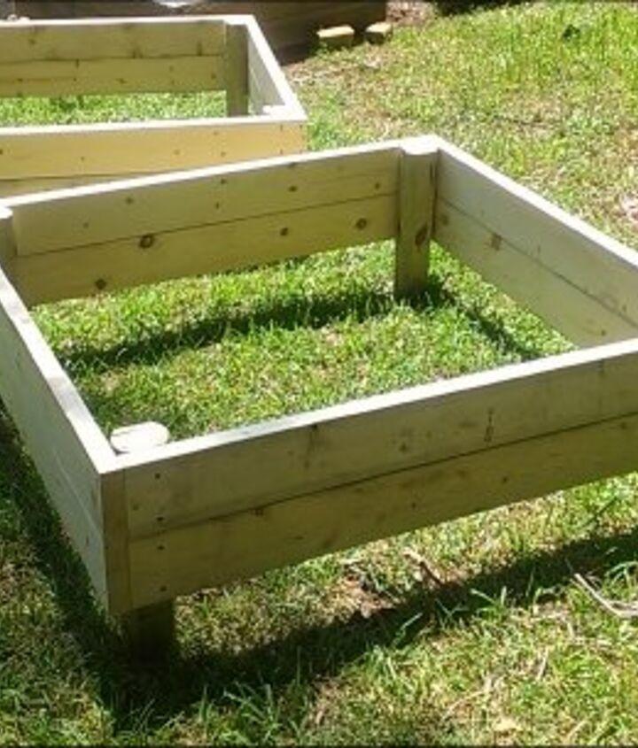 raised garden beds, diy, gardening, raised garden beds, woodworking projects