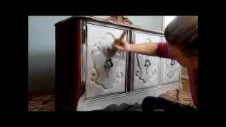 a tutorial on applying general finishes milk paint, painted furniture, General Finishes Milk Paint application