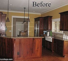 Updated Kitchen Without Painting Cabinets, Home Decor, Kitchen Cabinets,  Kitchen Design, Before