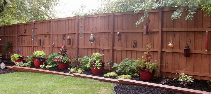 Wooden Privacy Fence via Elisa