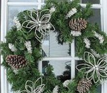 christmas wreath tutorial, christmas decorations, crafts, seasonal holiday decor, wreaths