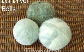 Easy DIY Felted Wool Dryer Balls