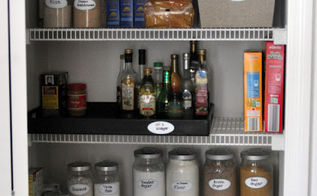 organize your pantry, closet, organizing