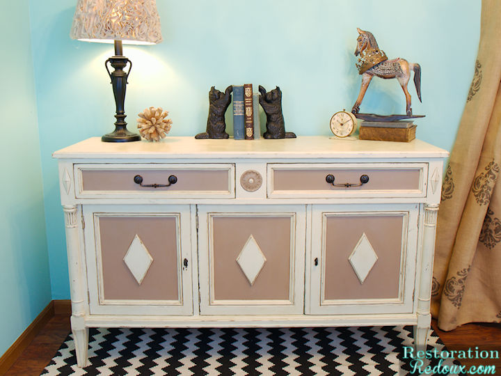 Ivory Buffet Makeover