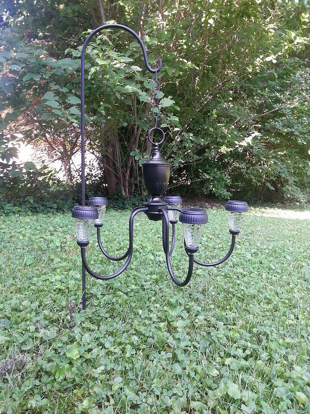 Solar outdoor chandelier chandelier designs 2 chandelier repurposed patio solar light hometalk outdoor chandeliers aloadofball Gallery