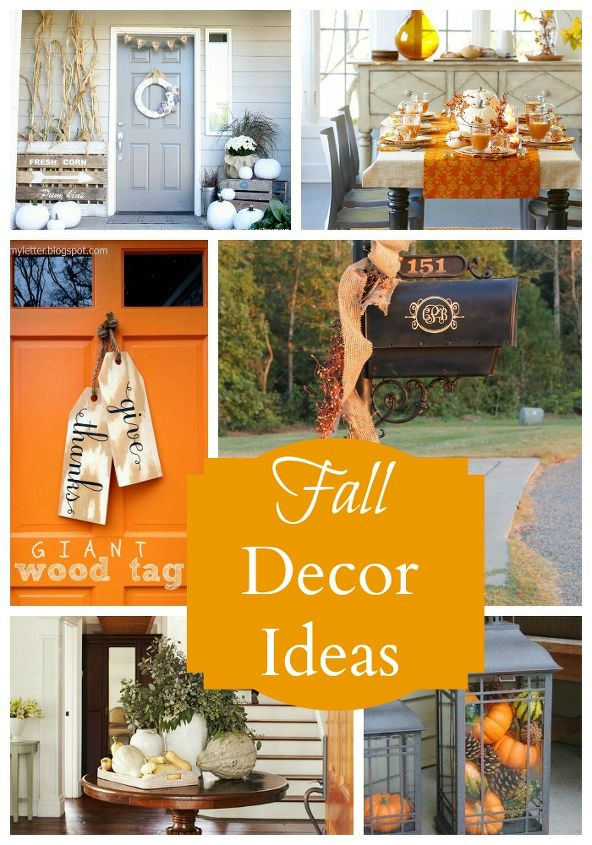 Fall Decorating Ideas shared at CreativelySouthern.com