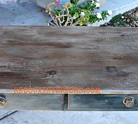 Paint That Looks Like Wood And Pickled Finish, Painted Furniture, I Layered  One Thin