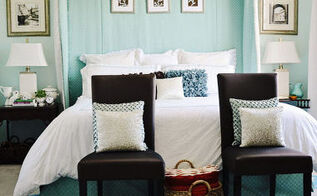 my turquoise and white bedroom, bedroom ideas, home decor, My Turquoise and White Bedroom