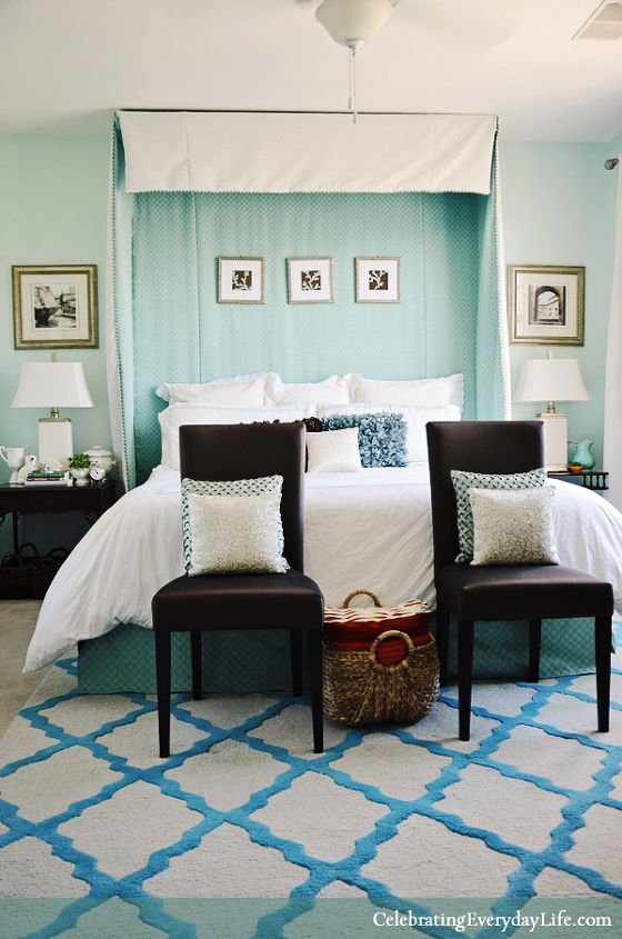 My Turquoise and White Bedroom. My Turquoise and White Bedroom   Hometalk