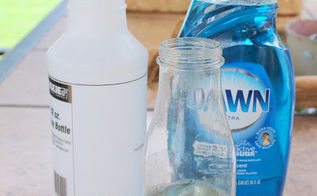 getting rid of flies fly solution, pest control, Dish Soap Water and a water bottle that is all you need