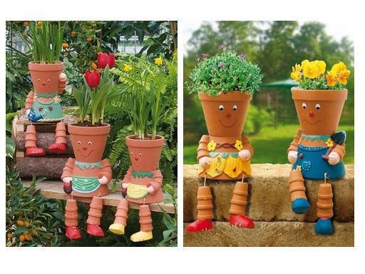 More awesome uses for those pottery pots