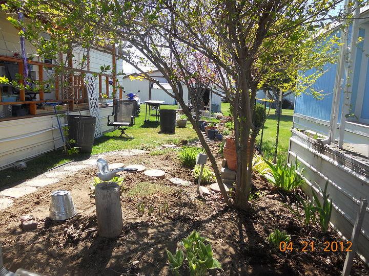 q posting my little garden help new thread, gardening, aarrgghhh Do we haaavvve to I m tired